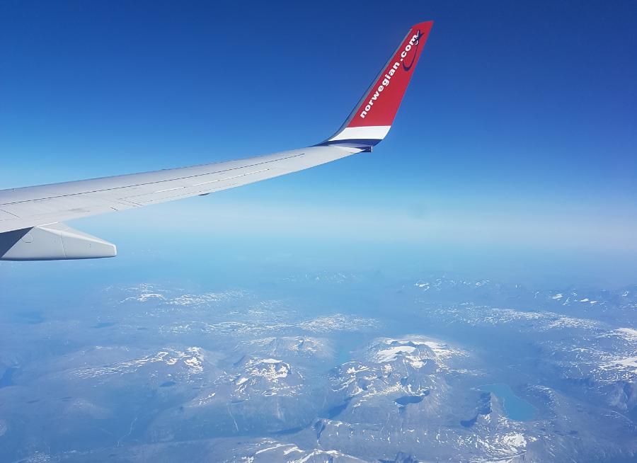 Norwegian Flug Tromsö