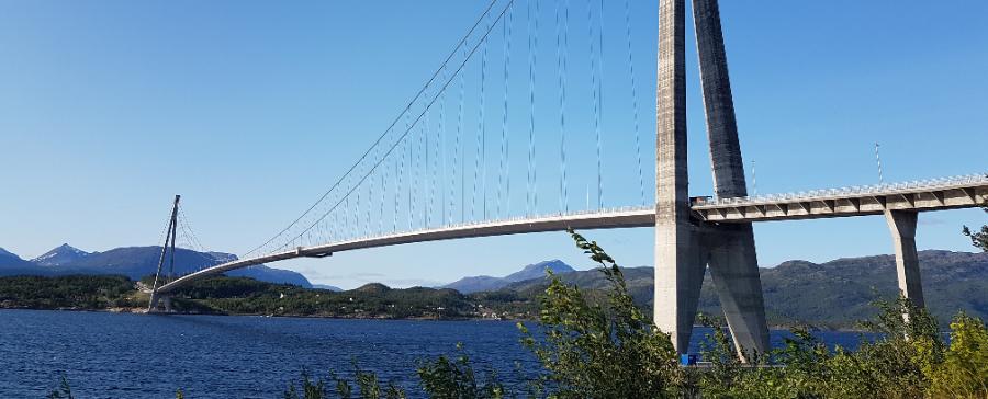 Narvik Halogaland Brücke